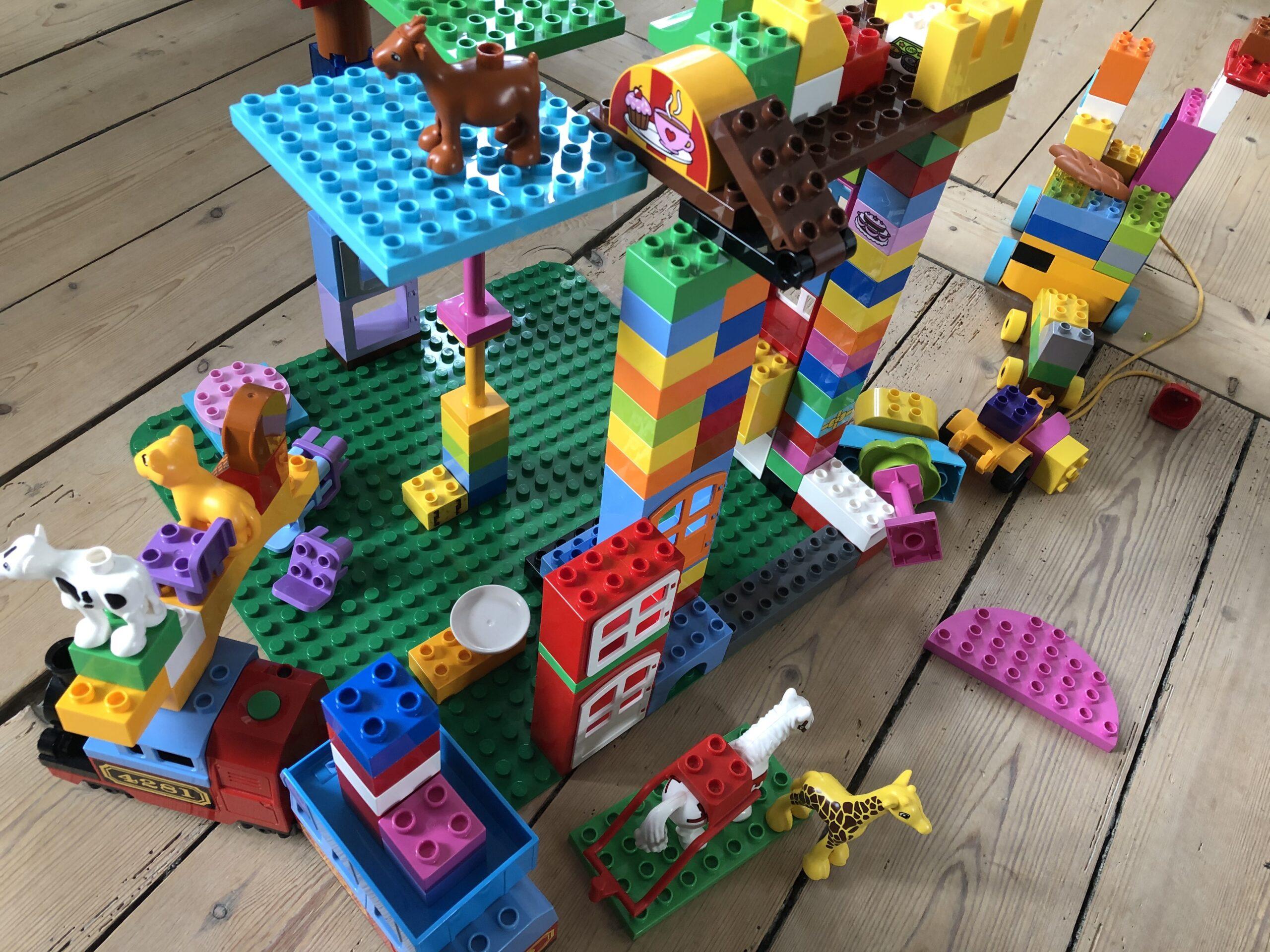Lego er en god aktivitet for børn