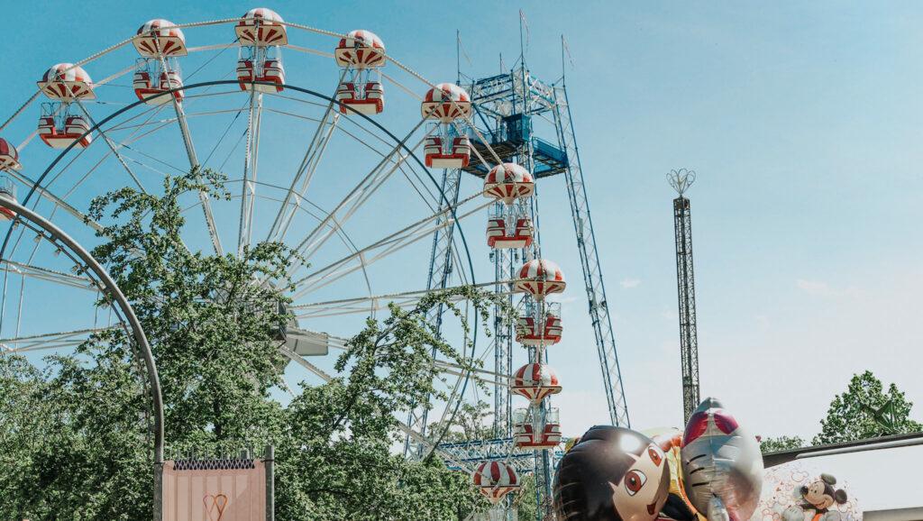 Pariserhjulet i Tivoli Friheden (Foto: Tivoli Friheden)