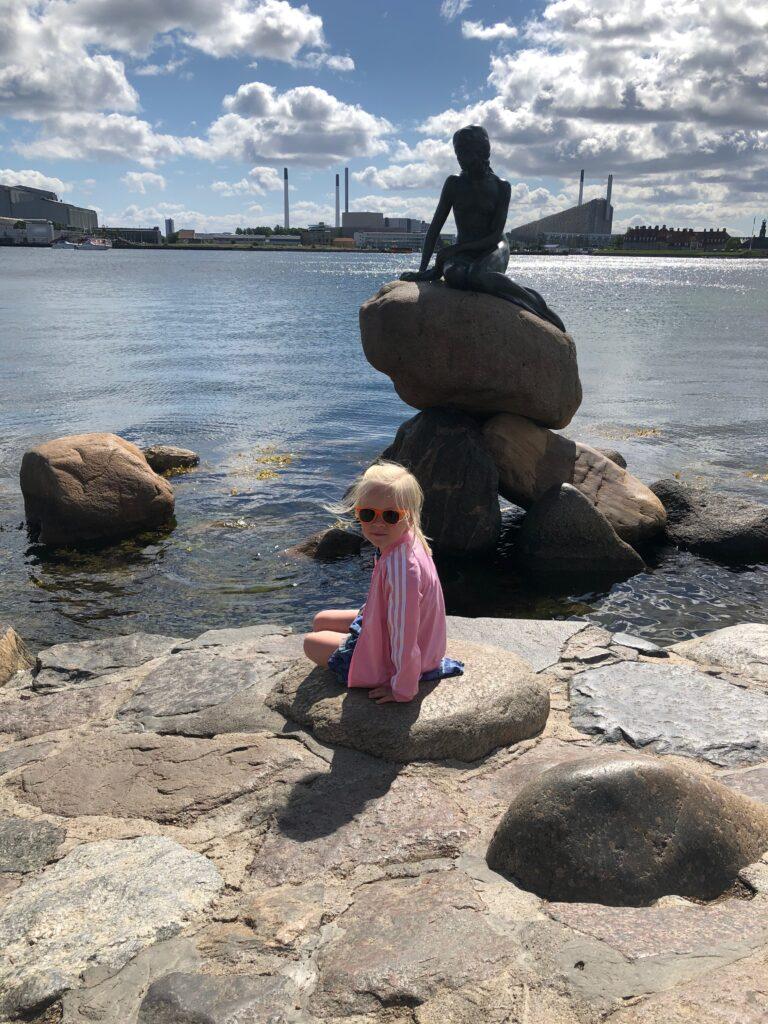 Den lille havfrue på Langelinie