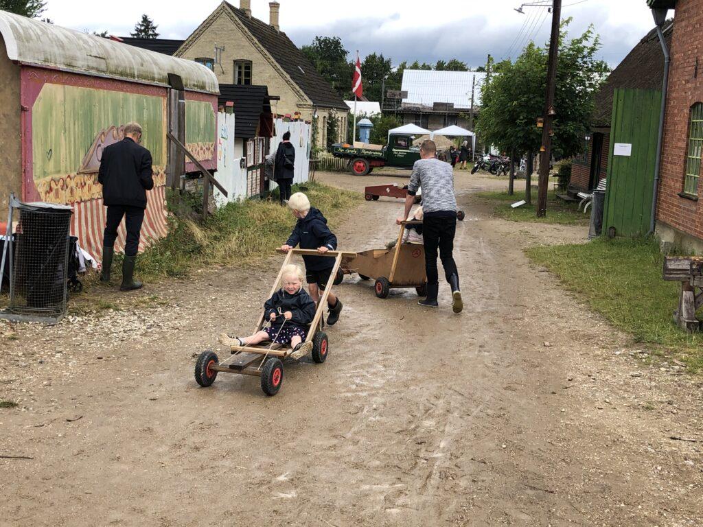 Sæbekassebiler på Frilandsmuseet er et hit