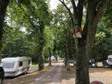 Indkørsel til Bøsøre Strand Feriepark