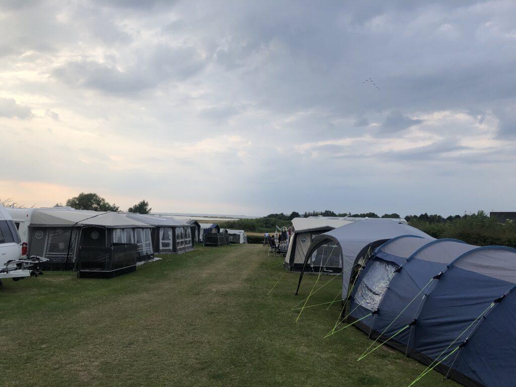Camping med udsigt