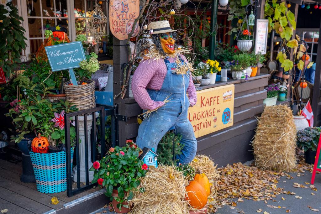 Pyntet til Høstfest i efterårsferien på Bakken