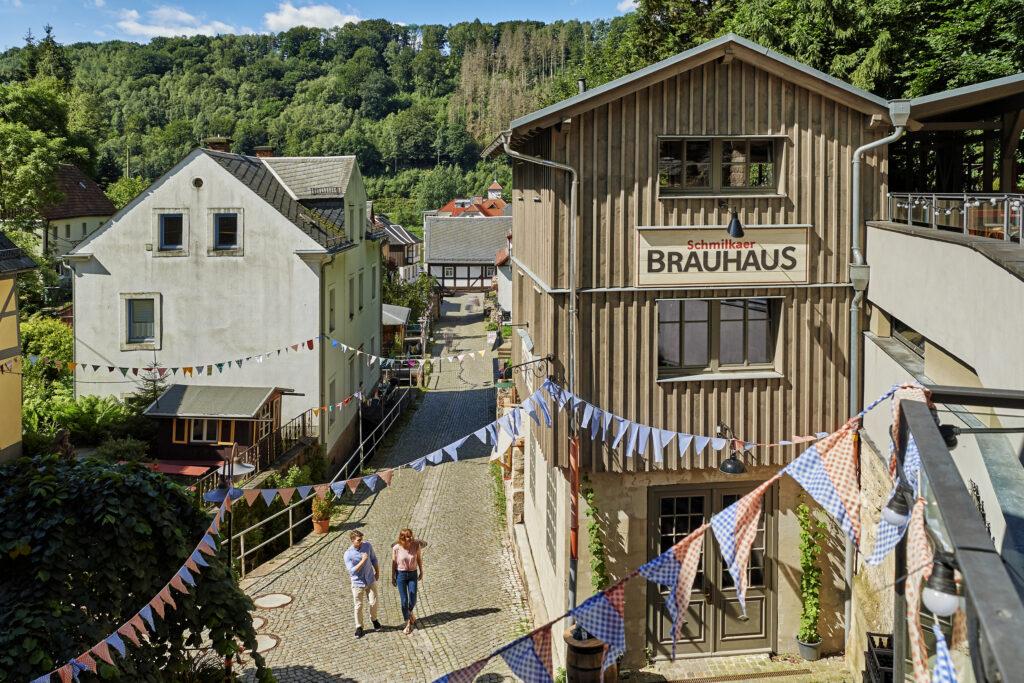 Den tyske landsby Schmilka (Foto: Tysk Turist Information)
