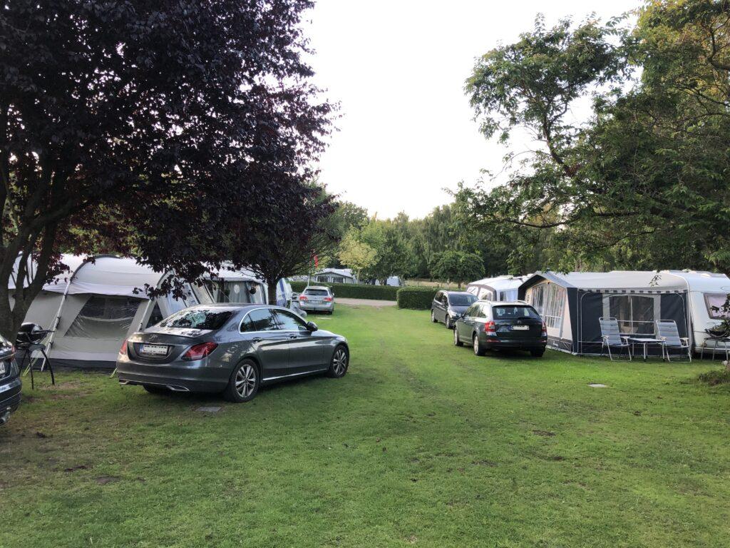 Campingplads i Danmark (Foto: Ferieogborn.dk)