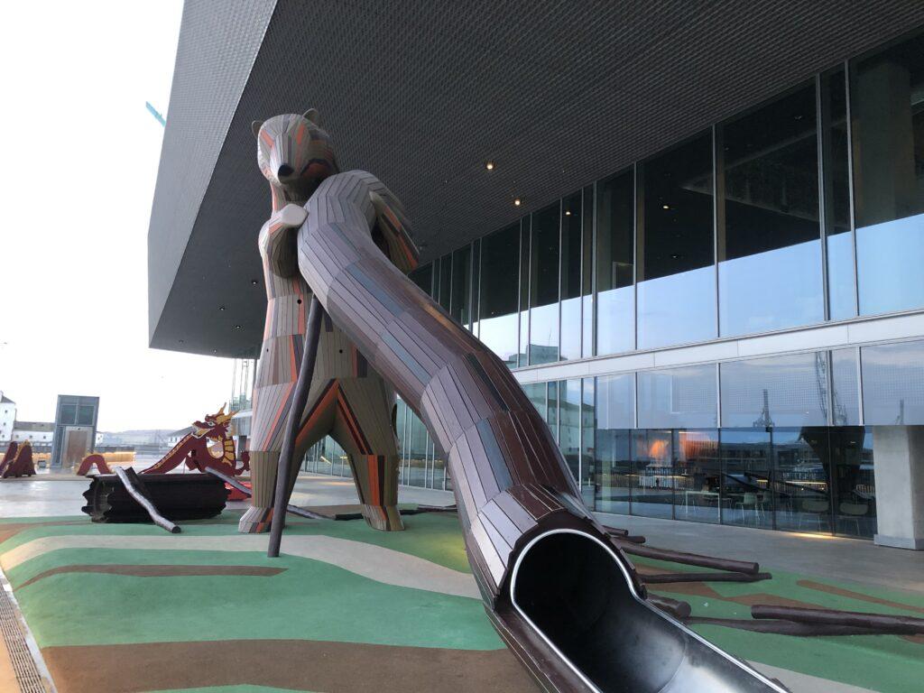 Dokk 1 - Legeplads i centrum af Aarhus (Foto: Ferie og Børn)