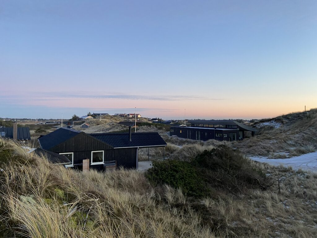 Sommerhuse ved vesterhavet (Foto: Ferieogborn.dk)