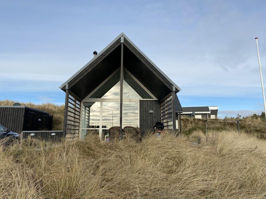 Udlejningssommerhus ved Vesterhavet (Foto: Ferieogborn.dk)