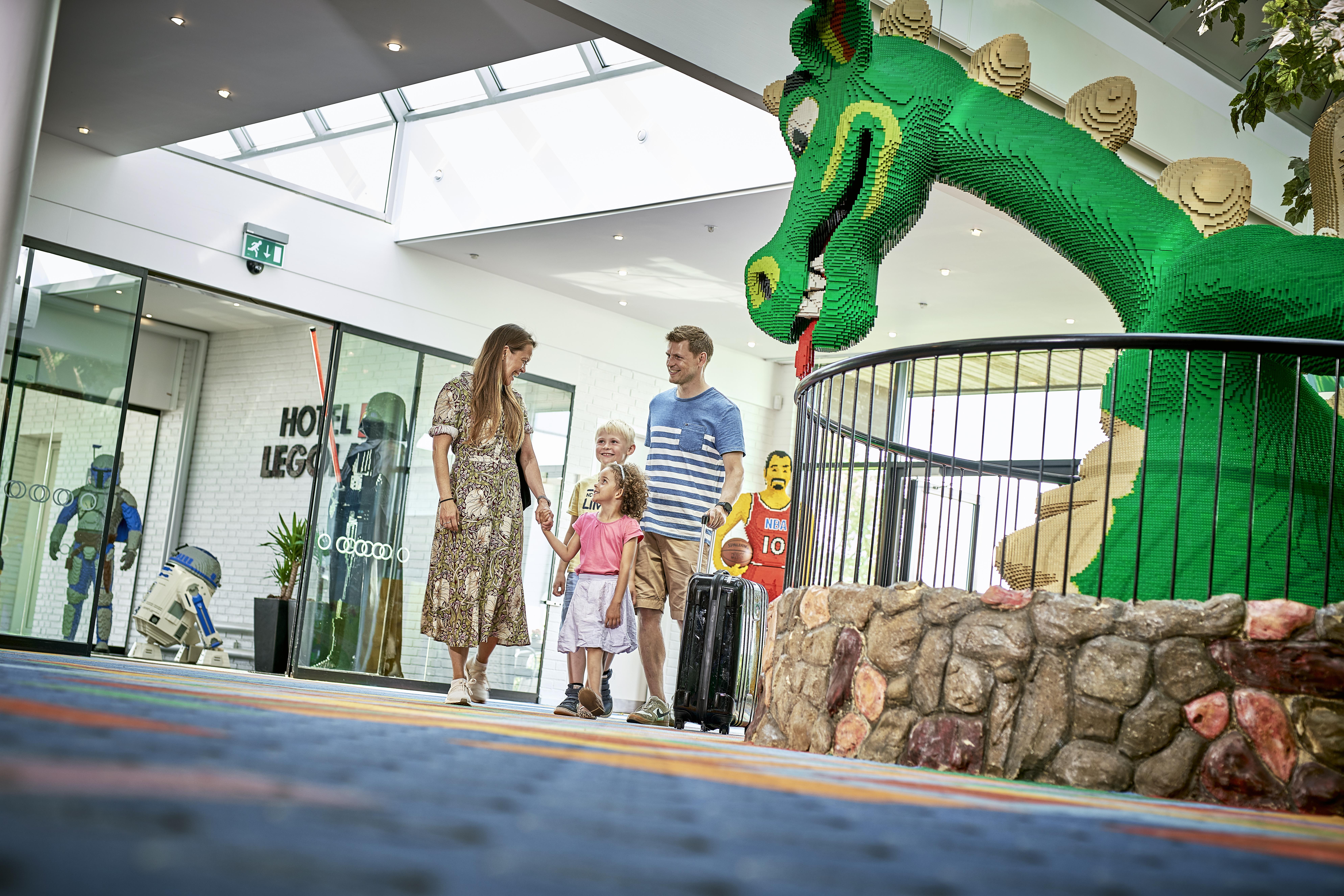 Hotel LEGOLAND med dinoer (Foto: LEGOLAND)