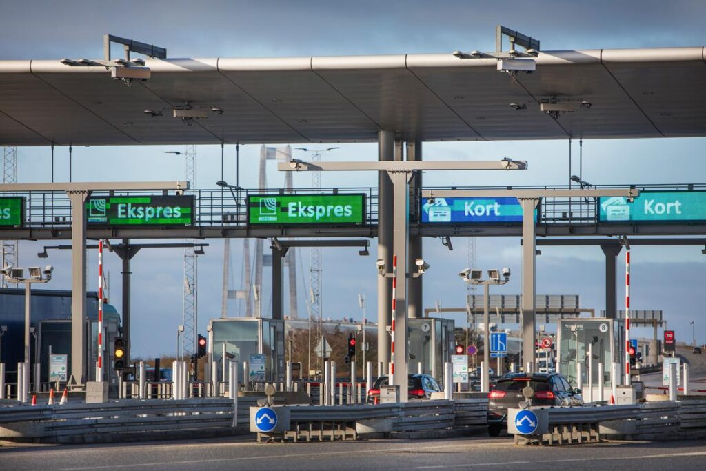 Ferietrafik i Danmark (Foto: Sund og Bælt)