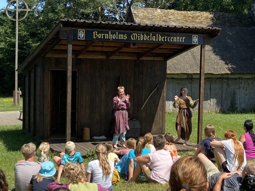 Bornholms Middelaldercenter (Foto: Ferieogborn.dk)