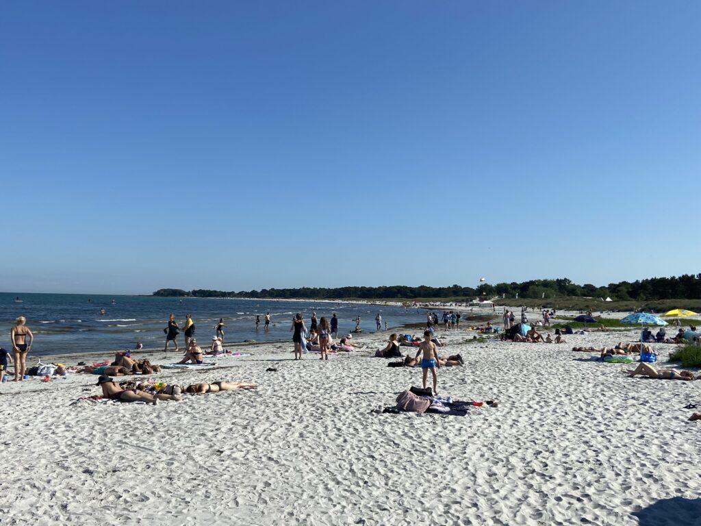 Balka Strand på Bornholm (Foto: Ferieogborn.dk)
