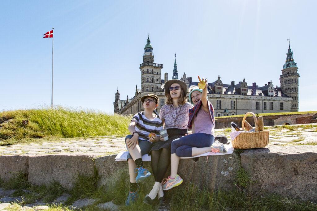 Sommeroplevelser på Kronborg Slot for børn (Foto: Kronborg Slot)
