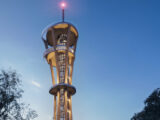 Verdens højeste udsigtstårn i træ - Rhineland Tower K1 © Bernd Pieroth