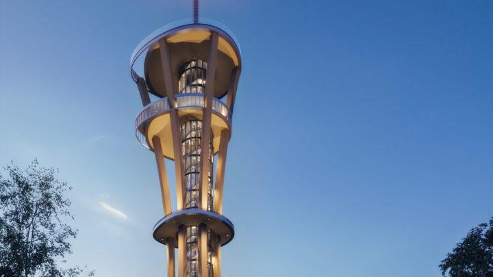 Verdens højeste udsigtstårn i træ