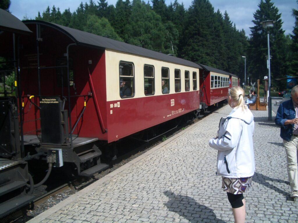 Damptog til Bloksbjerg i Harzen (Foto: Ferieogborn.dk)