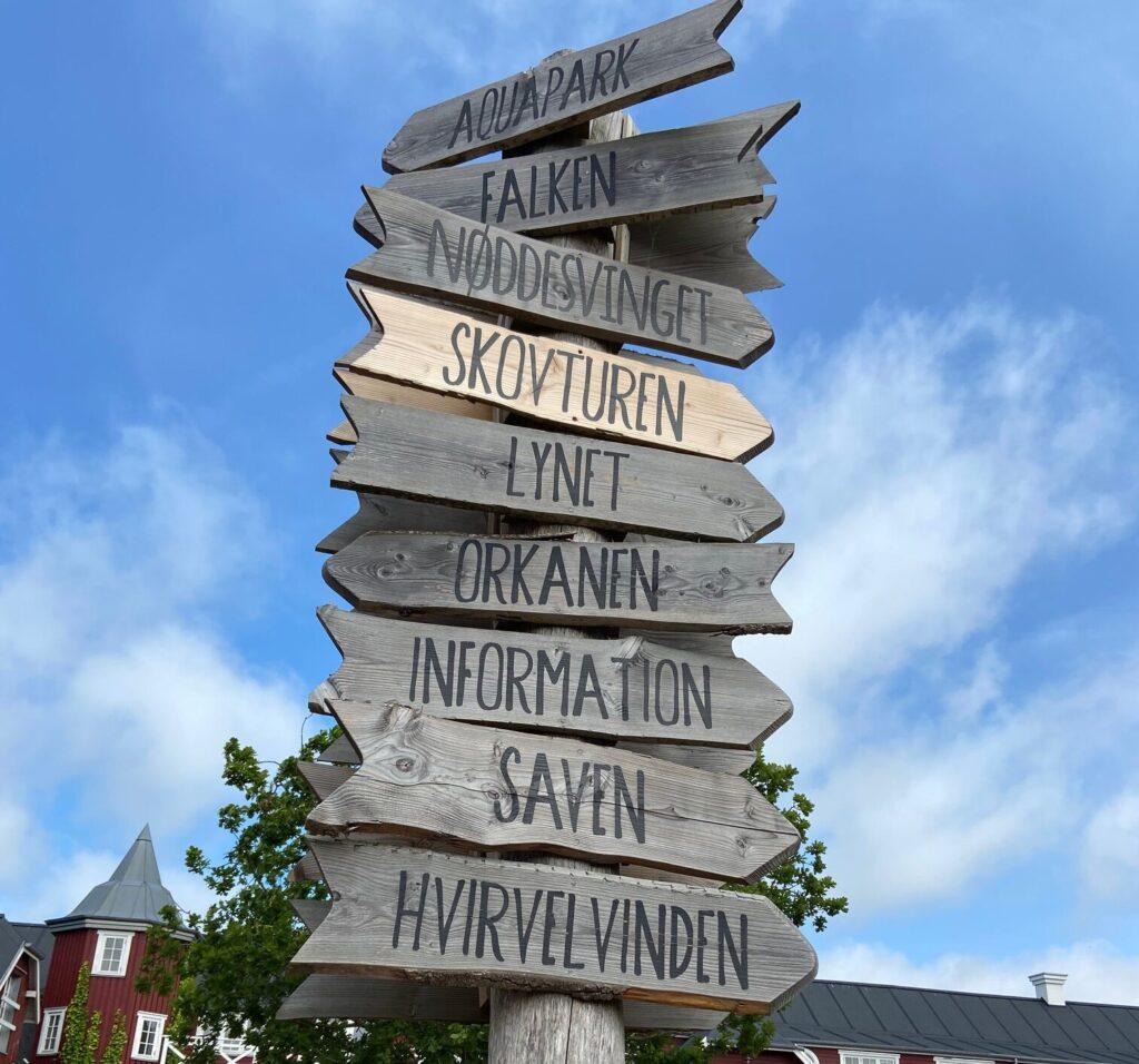 Find vej i sommerlandet (Foto: Ferieogborn.dk)