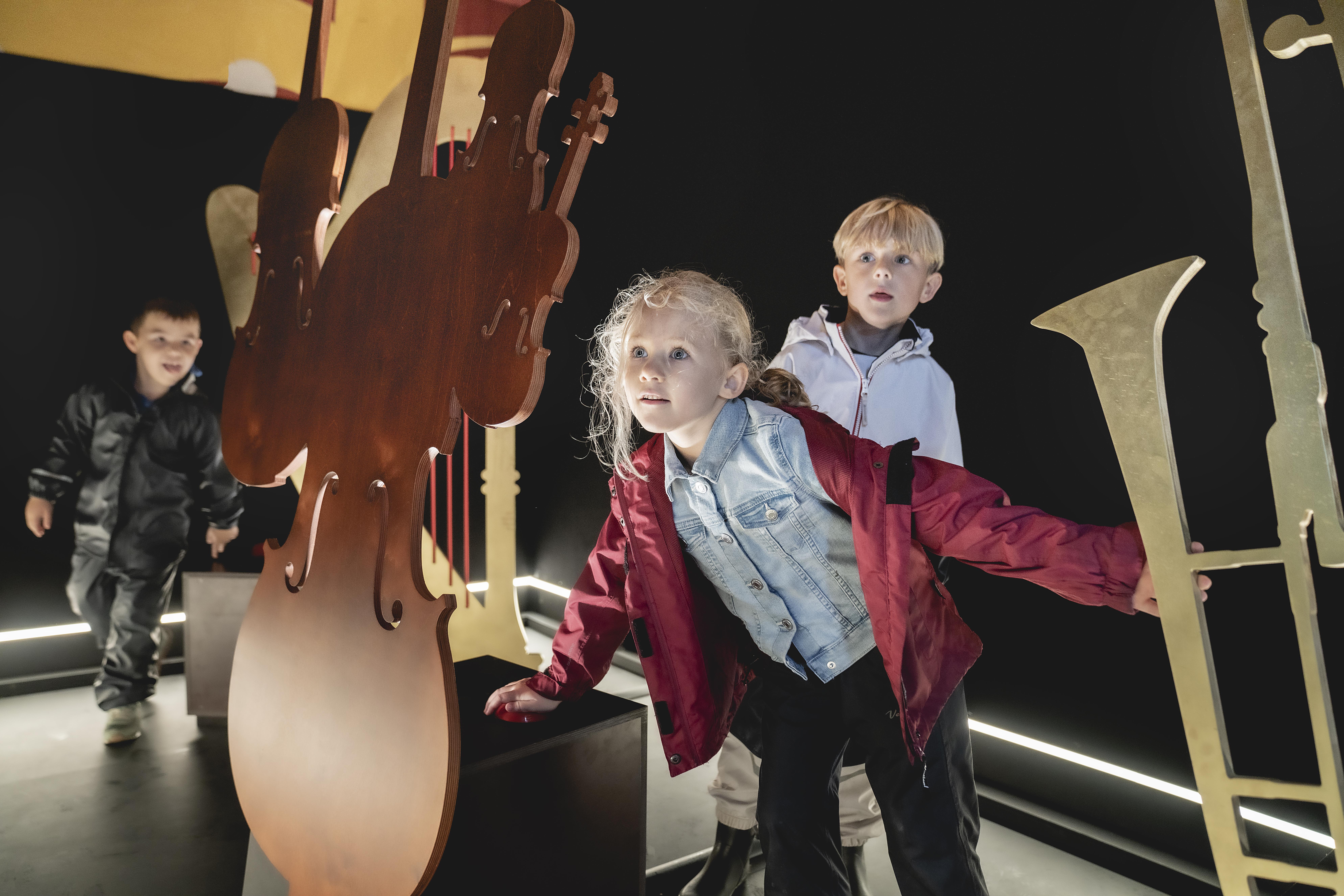 Interaktivt børneunivers (Foto: Det Kongelige Teater)