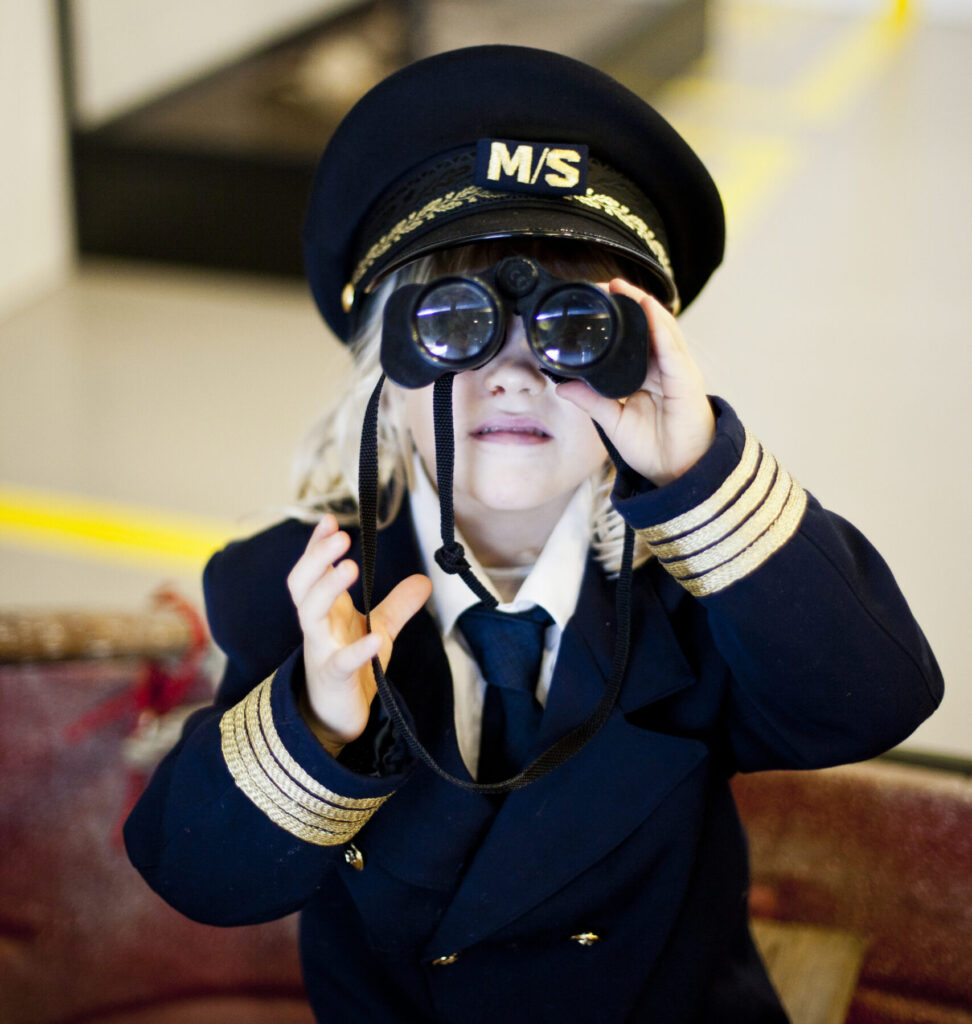 Kaptajn på M/S Museet for Søfart (Foto: Maria D├©nvang)